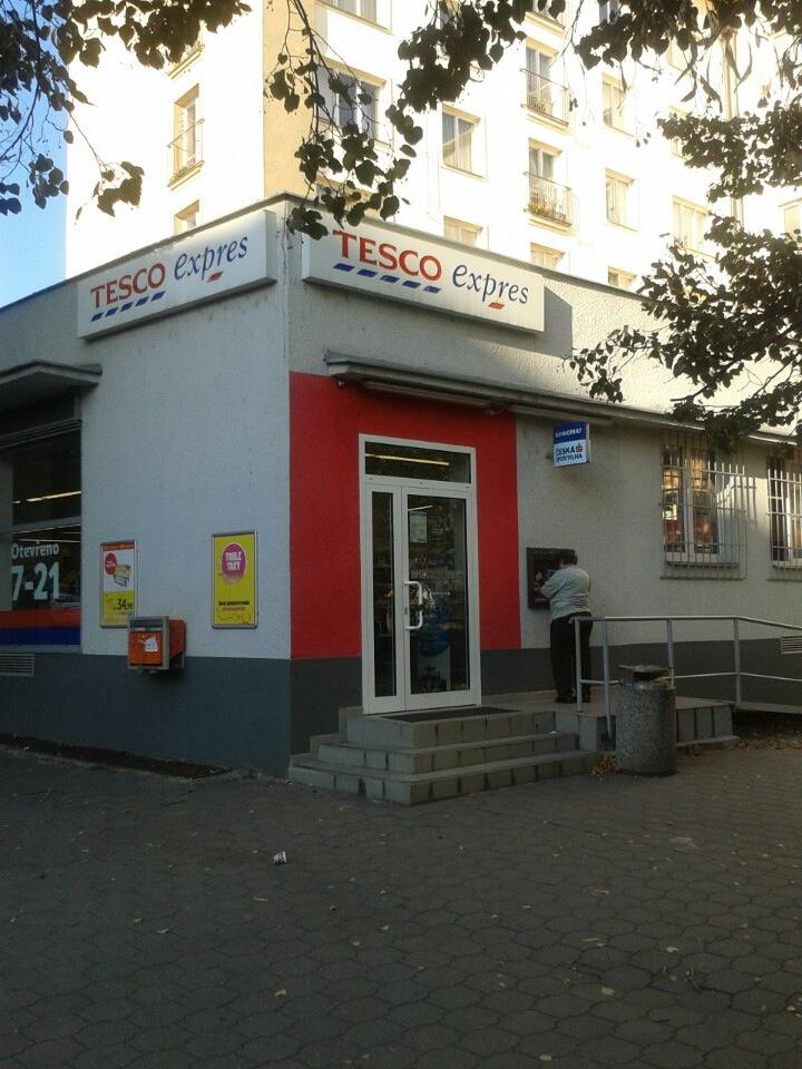 Síť supermarketů Tesco