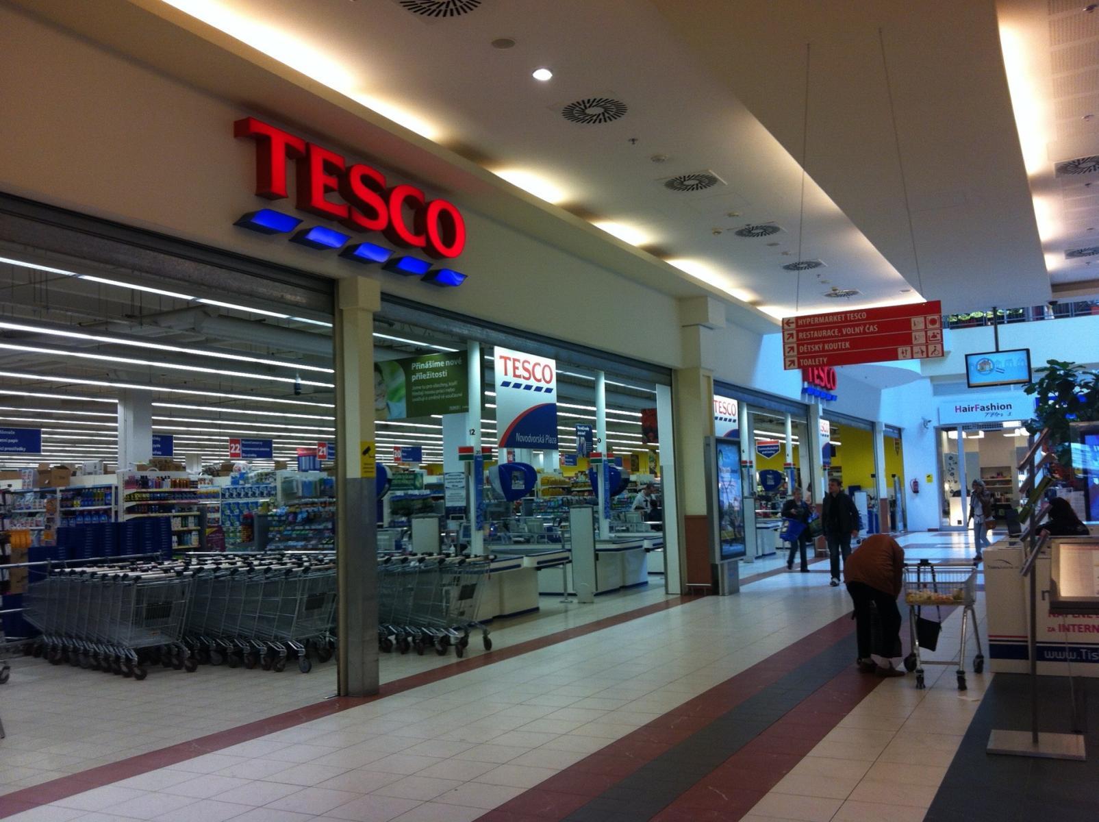 Síť hypermarketů Tesco