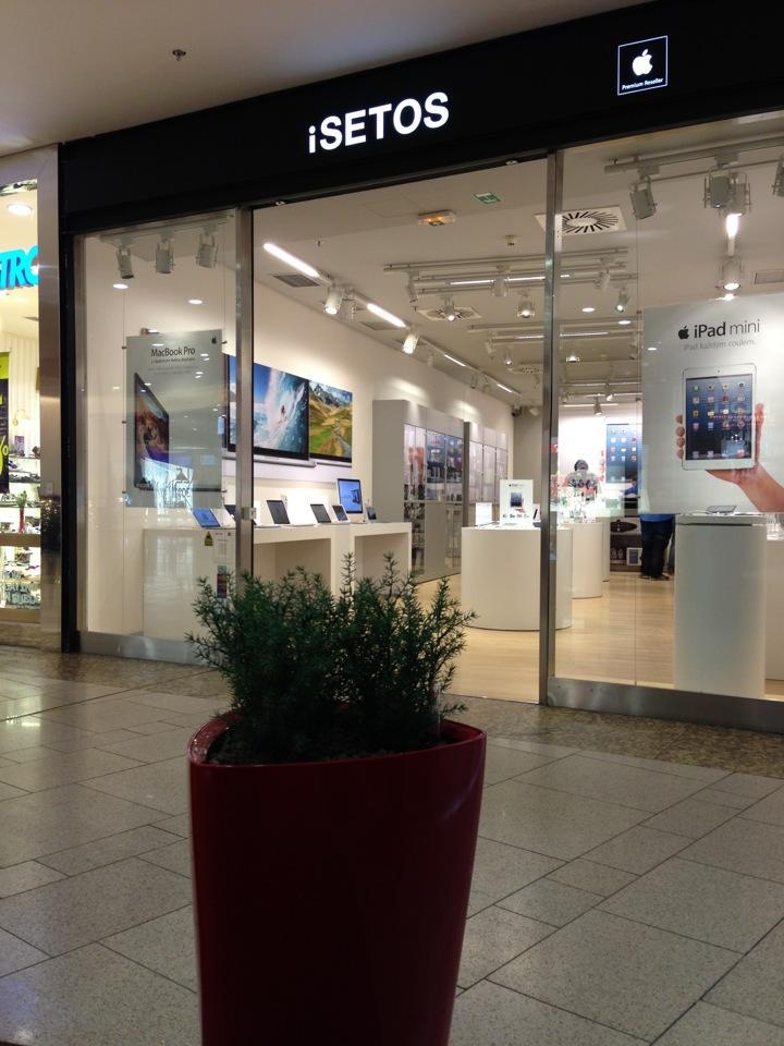 Obchod iSETOS-Apple Premium Reseller