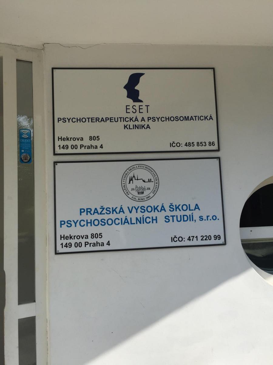 Pražská vysoká škola psychosociálních studií