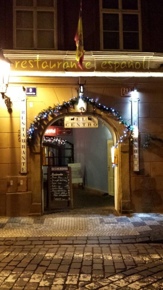 Španělská restaurace EL Centro