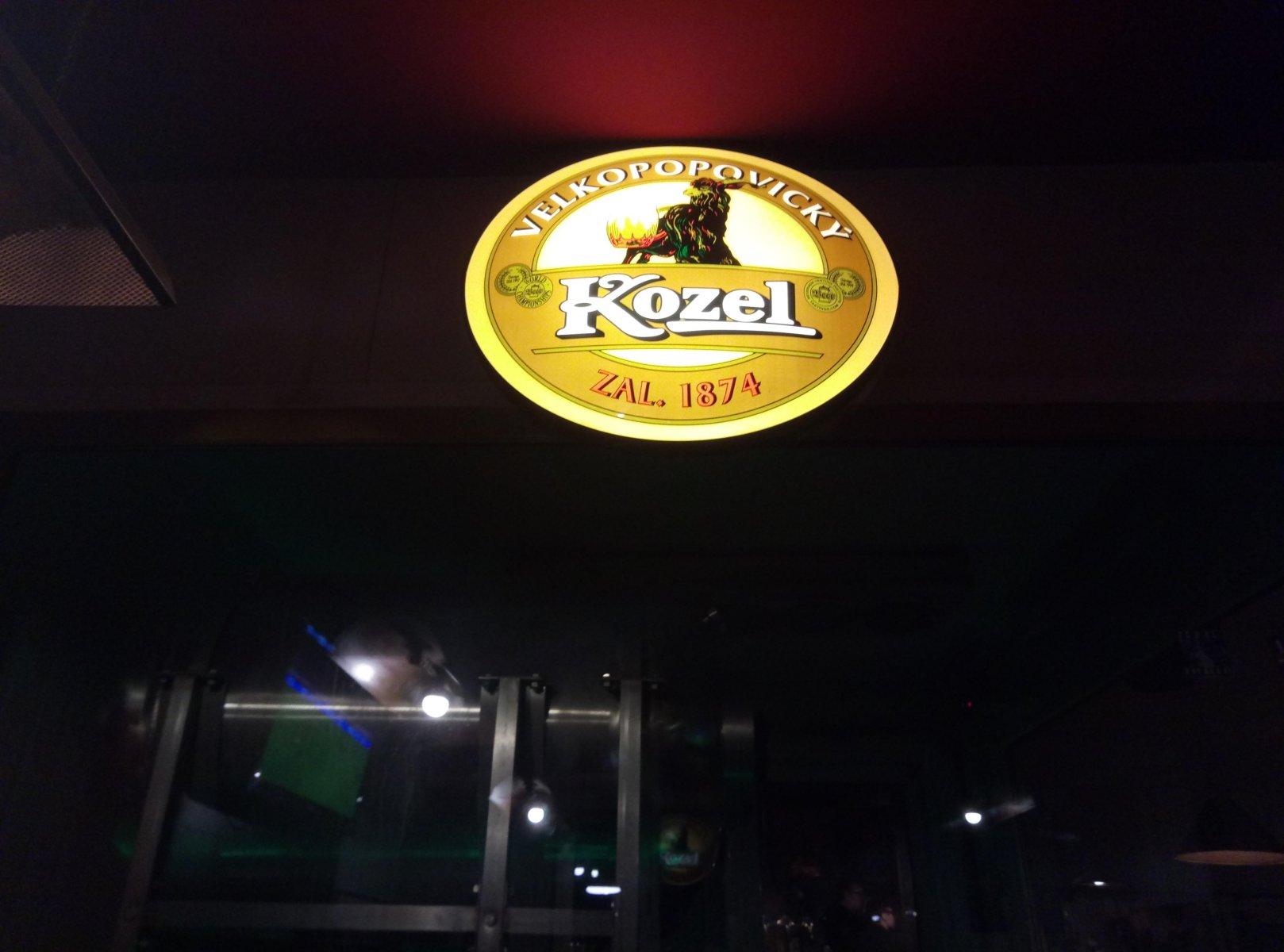 Restaurace Kozlovna Léta Páně 1874