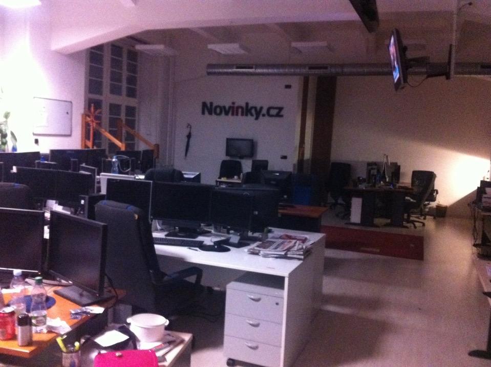 Informační portál Novinky.cz