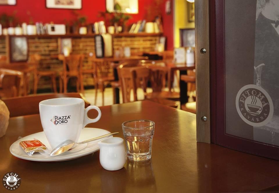 Pitomá kavárna