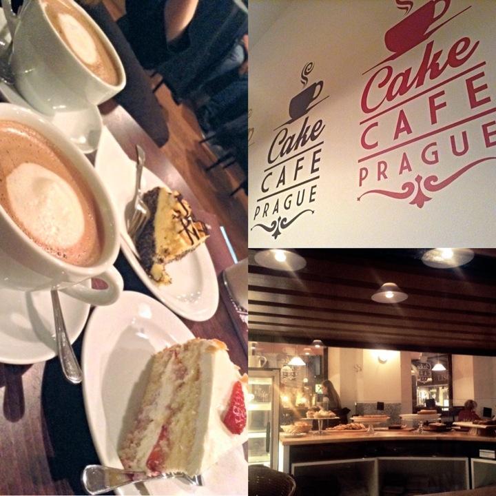 Kavárna Cake Café Prague