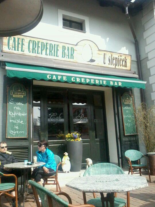 Cafe creperie bar U Slepiček